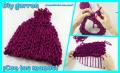 cómo tejer gorros de lana sin agujas