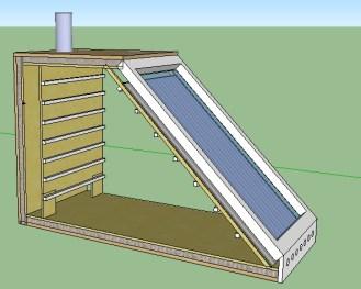 Sechoir solaire ventil naturelle 2