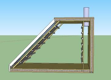 Sechoir solaire ventil naturelle
