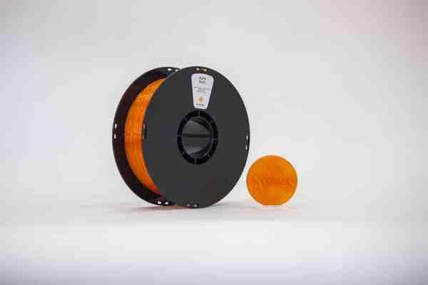 Filament PLA Translucide Orange
