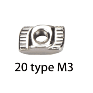 Ecrou M3 imprimante 3D