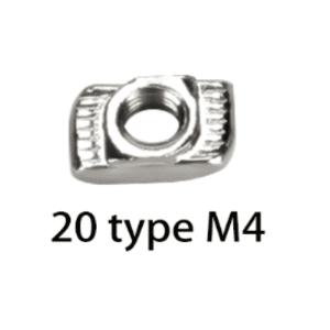 Ecrou M4 imprimante 3D