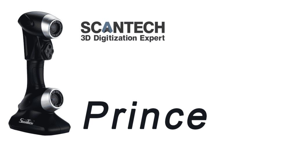 Scanner 3D Scantech Prince