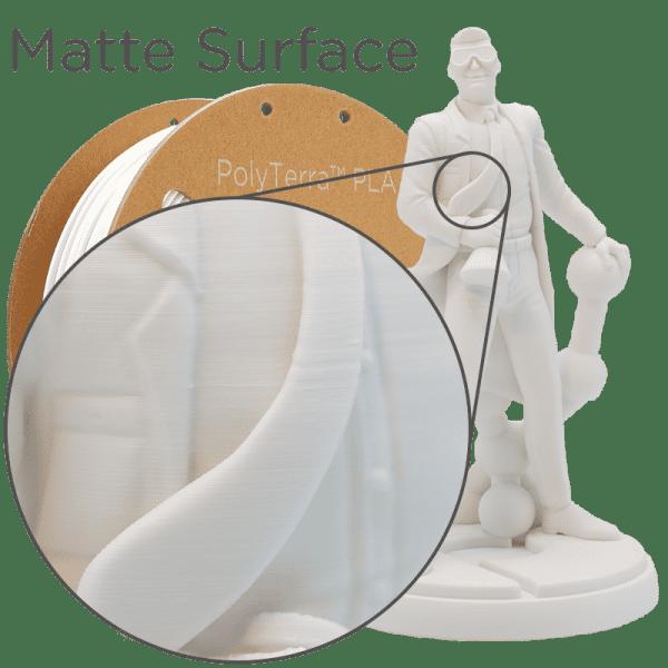Impression Filament Plymaker plolyterra Blanc
