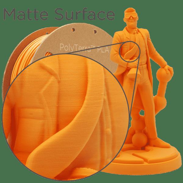 Impression filament polymaker orange