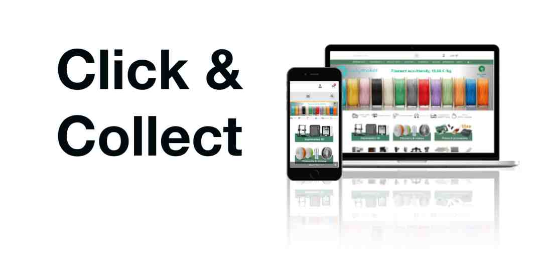 Creadil Click and collect