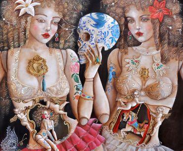 El universo femenino de Ana Hernández San Pedro desembarca en Badajoz