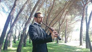 Manuel Pascual, el corneta renacentista que bucea en el tiempo