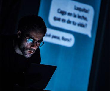 Un like para '@Lone', el estreno teatral de El Avispero