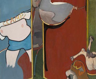 'Mundo lúdico', la obra de Barjola que adquiere el MUBA