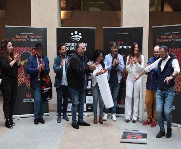 Jesús Ortega, de EEUU al Festival 'Porrina de Badajoz' en Talarrubias