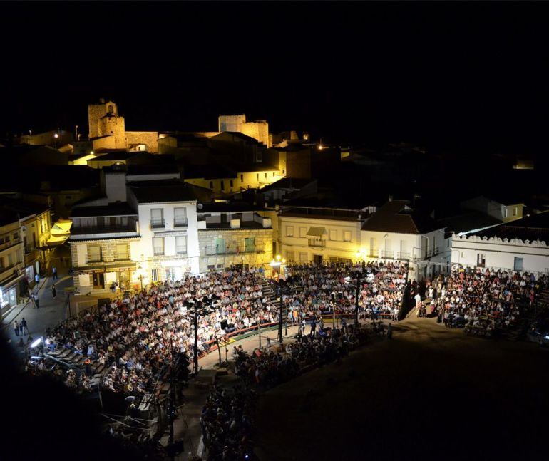 'El alcalde de Zalamea' en Zalamea de la Serena (Extremadura)