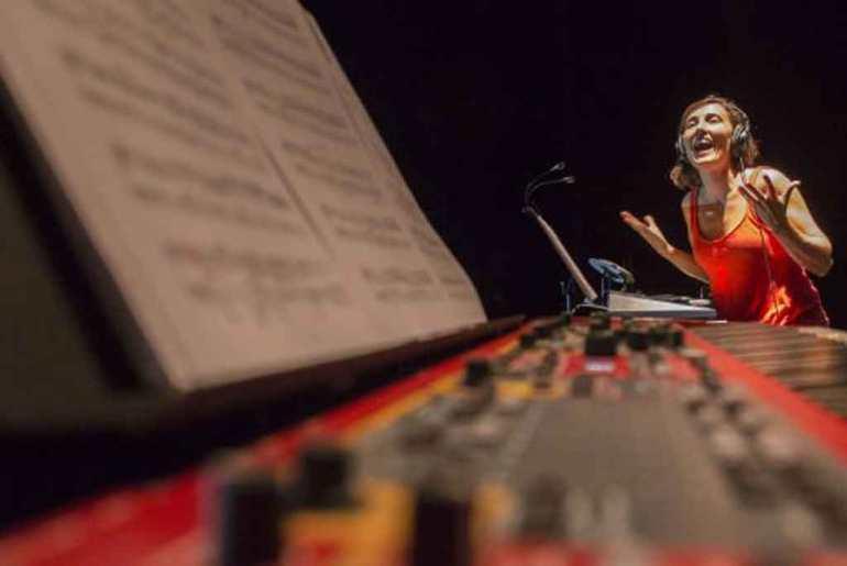 La compositora María Quintanilla