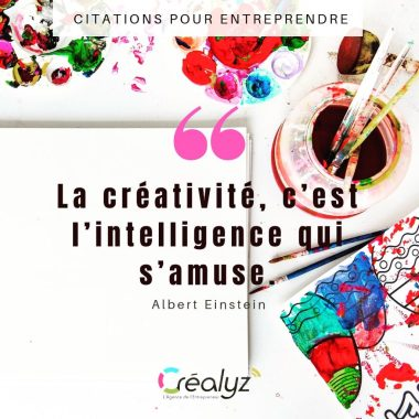 citation créativité créalyz