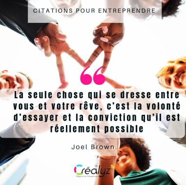 citation inspirante créalyz