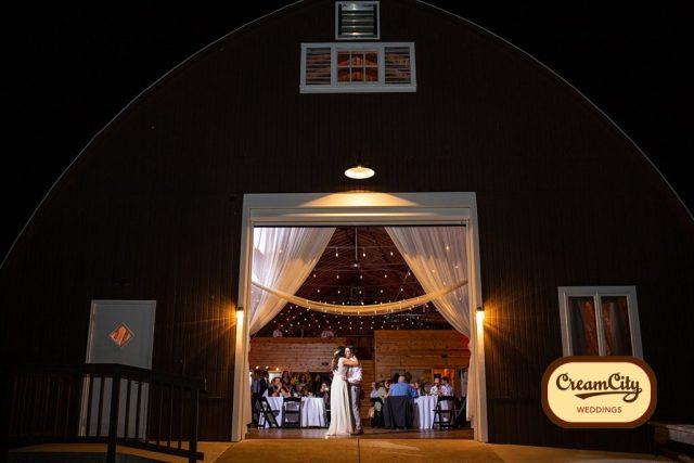 Barn at Trinity Peak by Cream City Weddings