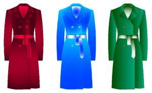 Patrones para confeccion de abrigos de dama