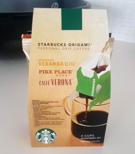 Starbucks Origami Package