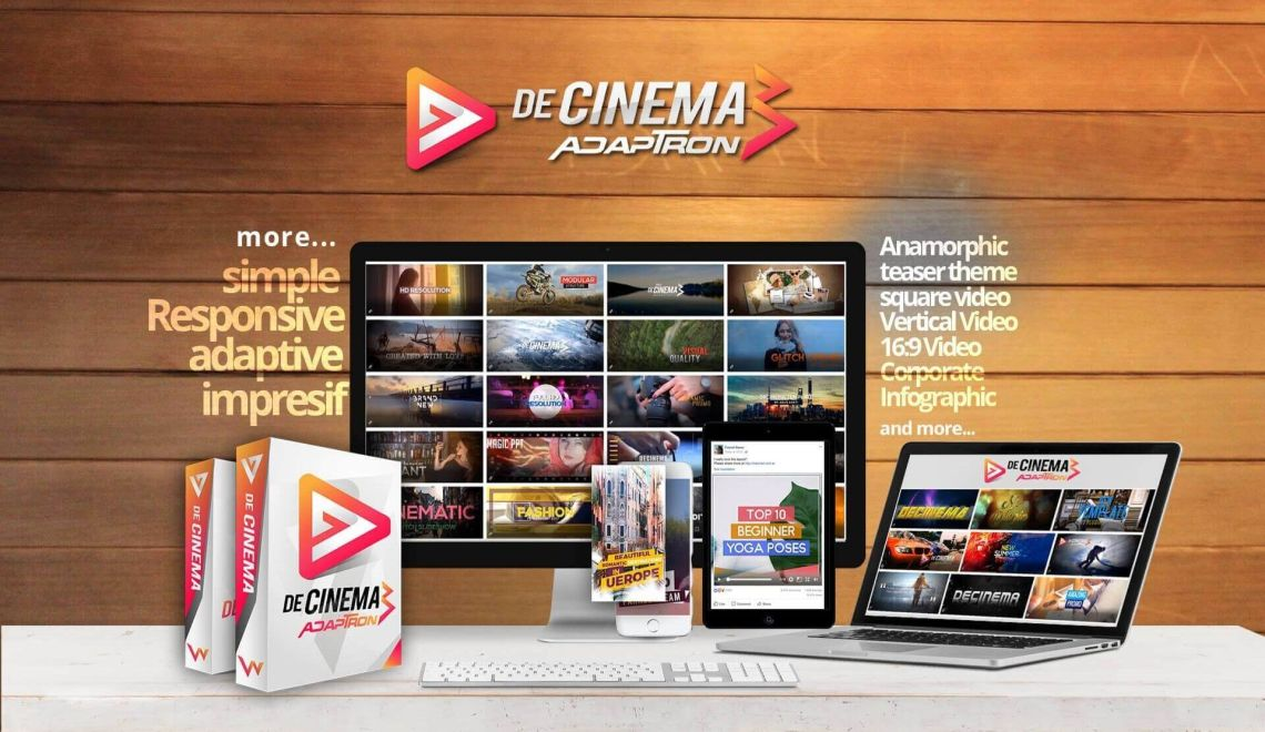 Video Mobile Friendly dengan Decinema Adaptron