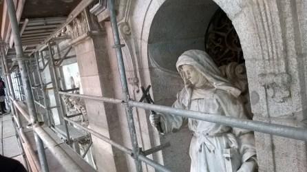 Fachada Santa Bárbara. Foto de la autora