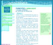 2ème version du site de Pharmathèque, spécialiste de la vente d'officines et de Laboratoires