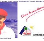 1ère version du site Passion Côte Basque International, agence touristique incentive à Biaritz