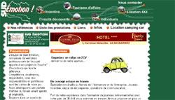 2ème version du site de Sud Emotion, agence touristique incentive à Biaritz