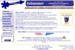 2ème version du site de vente en ligne de matériel médical situé à Hendaye