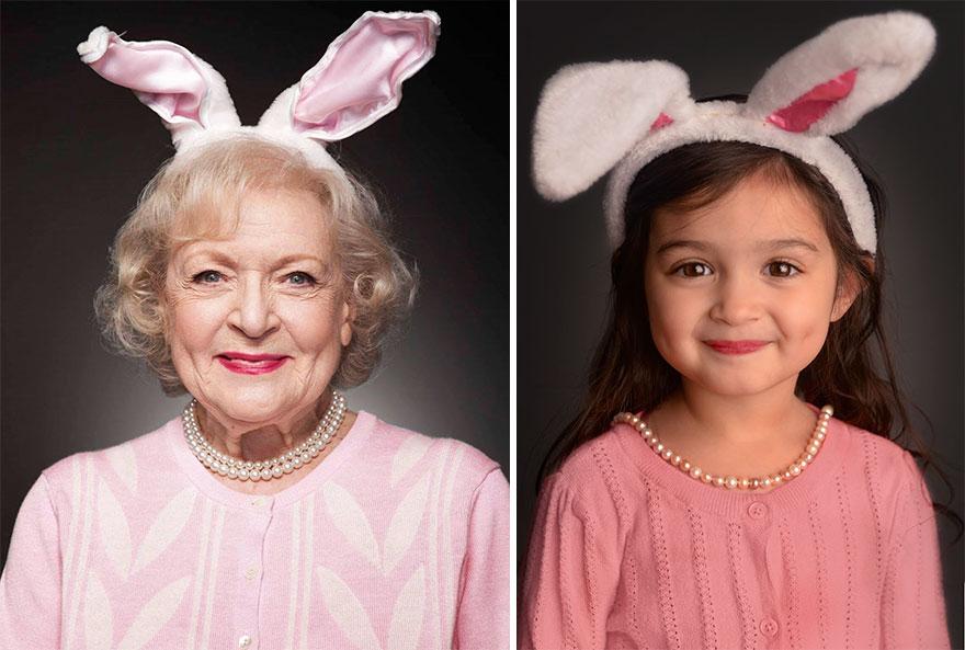 Cette petite parodie des femmes célèbres pour aider sa grand-mère à vaincre la maladie