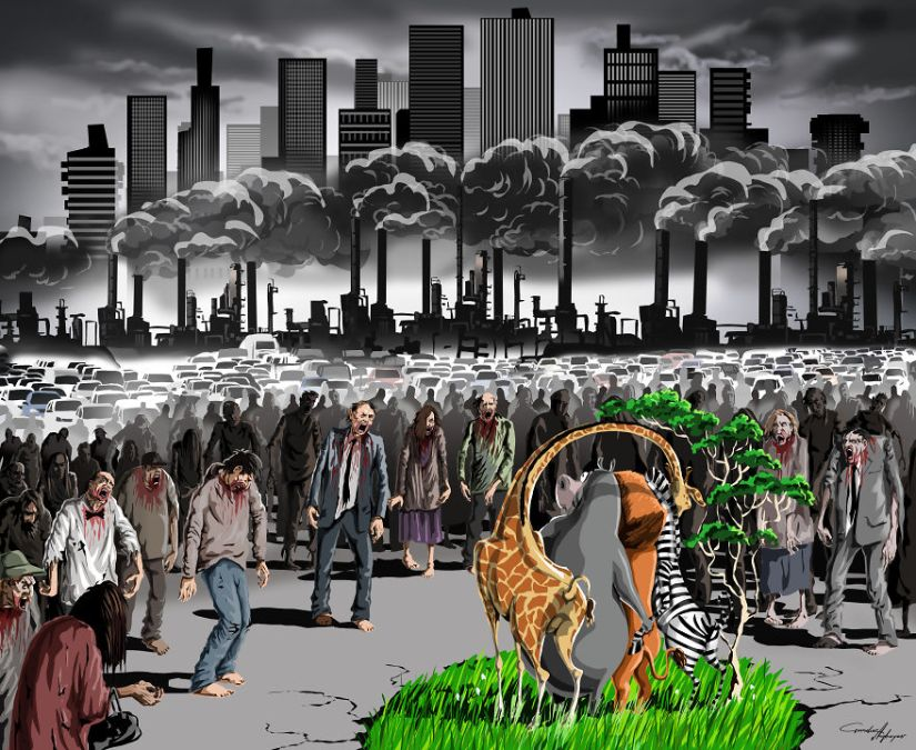 Les illustrations chocs et satiriques de Gunduz Aghayev