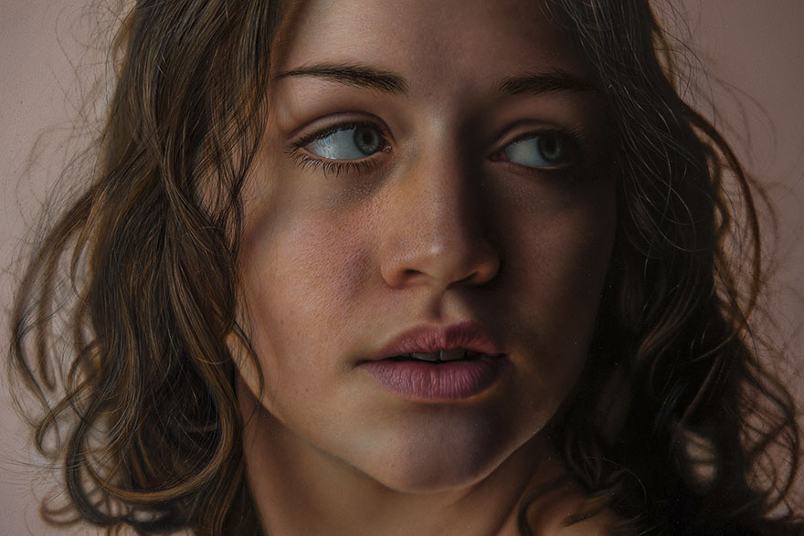 Marco Grassi réalise des peintures si réalistes qu'on croirait des photographies