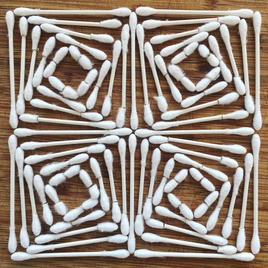 Adam Hillman transforme les objets du quotidien en formes géométriques hypnotisantes