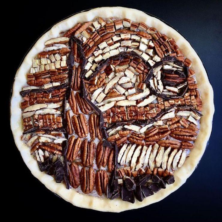 Lauren Ko crée des tartes artistiques folles en jouant avec la croûte