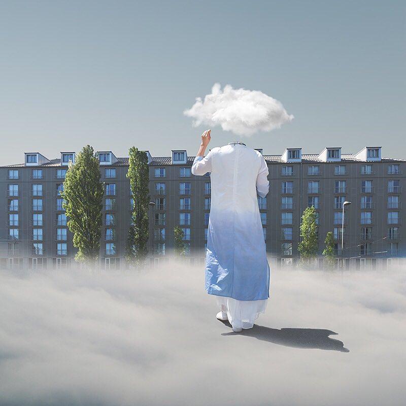 Charlie Davoli retouche ses photos iPhone pour créer un univers surréaliste fascinant