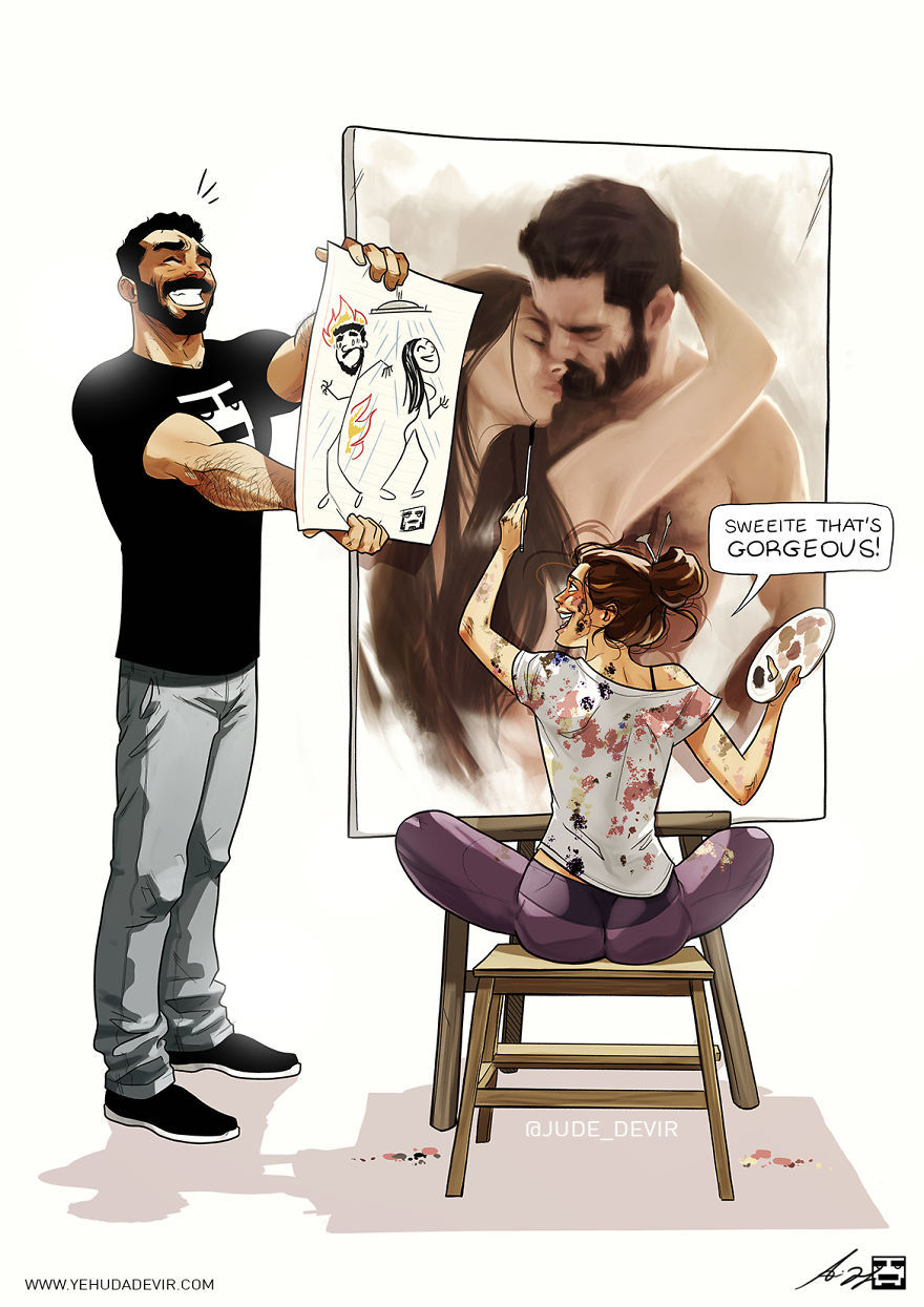 La vie de couple selon Yehuda Adi Devir