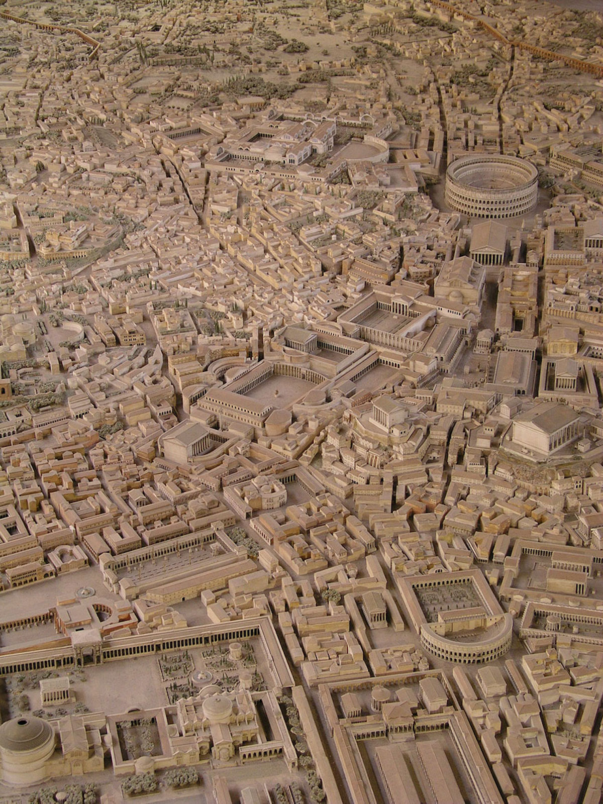 Maquette Rome antique