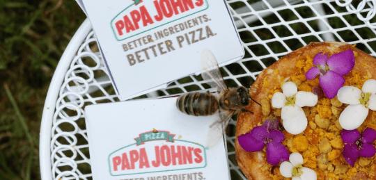 Papa John's Pizza pour Abeilles