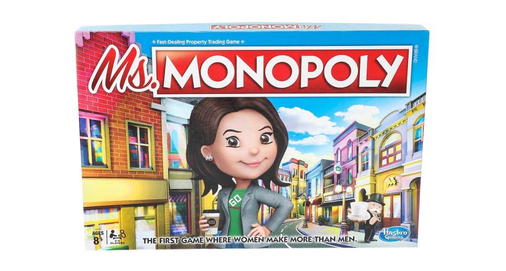 """Monopoly lance une version """"Madame"""" où les femmes démarrent avec plus d'argent que les hommes ! By Mélanie D. Monopoly-madame-inegalites-salariales-2"""