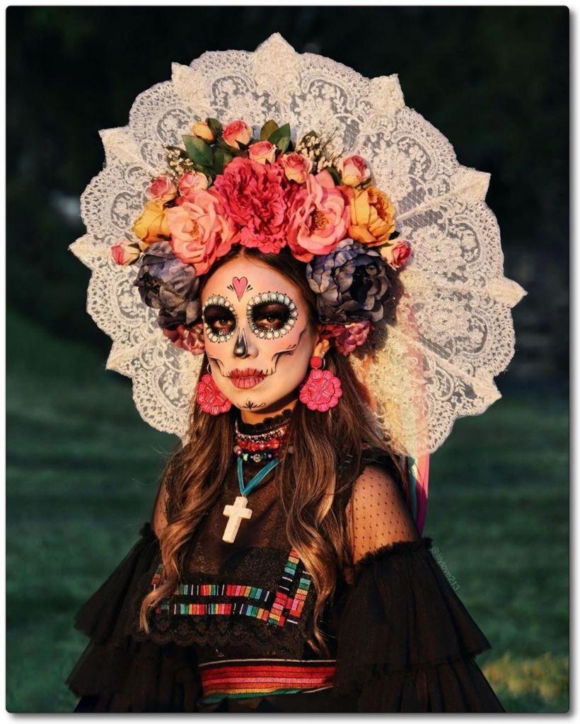 Jour Des Morts (mexique) : morts, (mexique), Costumes, Impressionnants, Créatifs, Dévoilés, Morts, Mexique