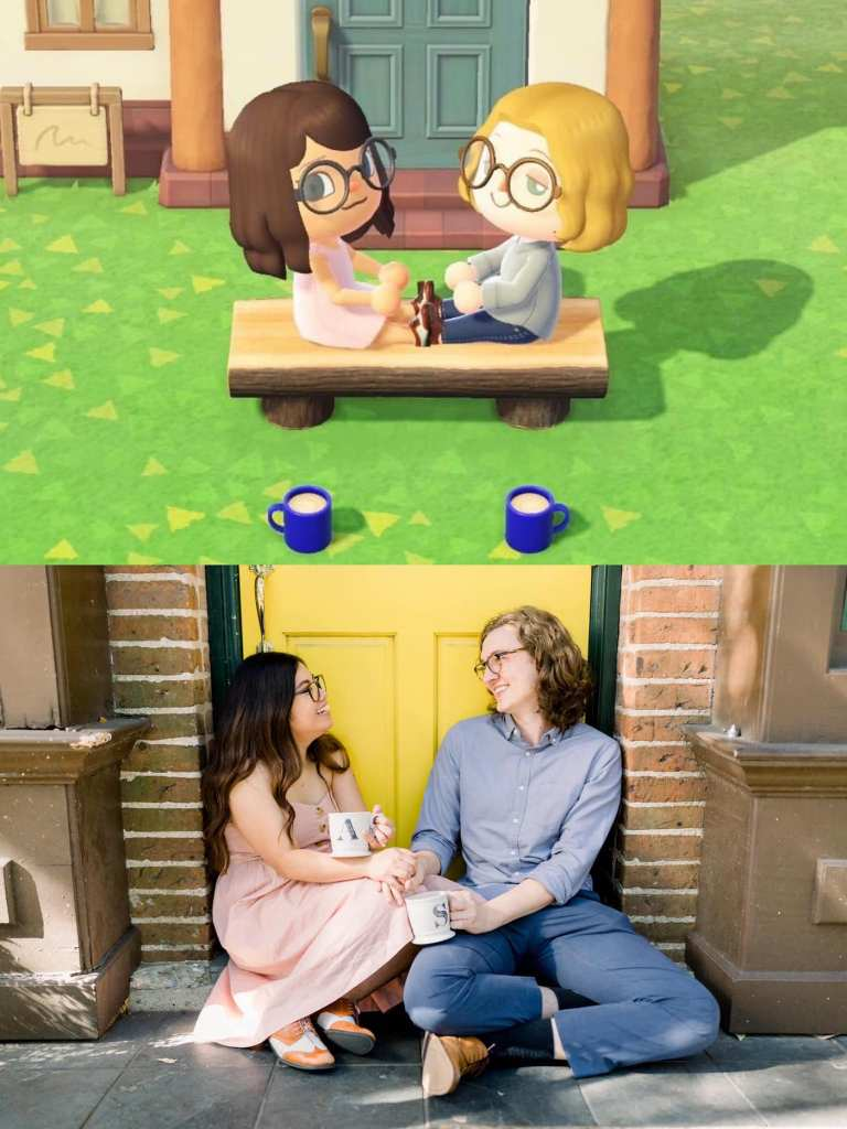 Ce couple réalise ses fiançailles sur le jeu Animal Crossing