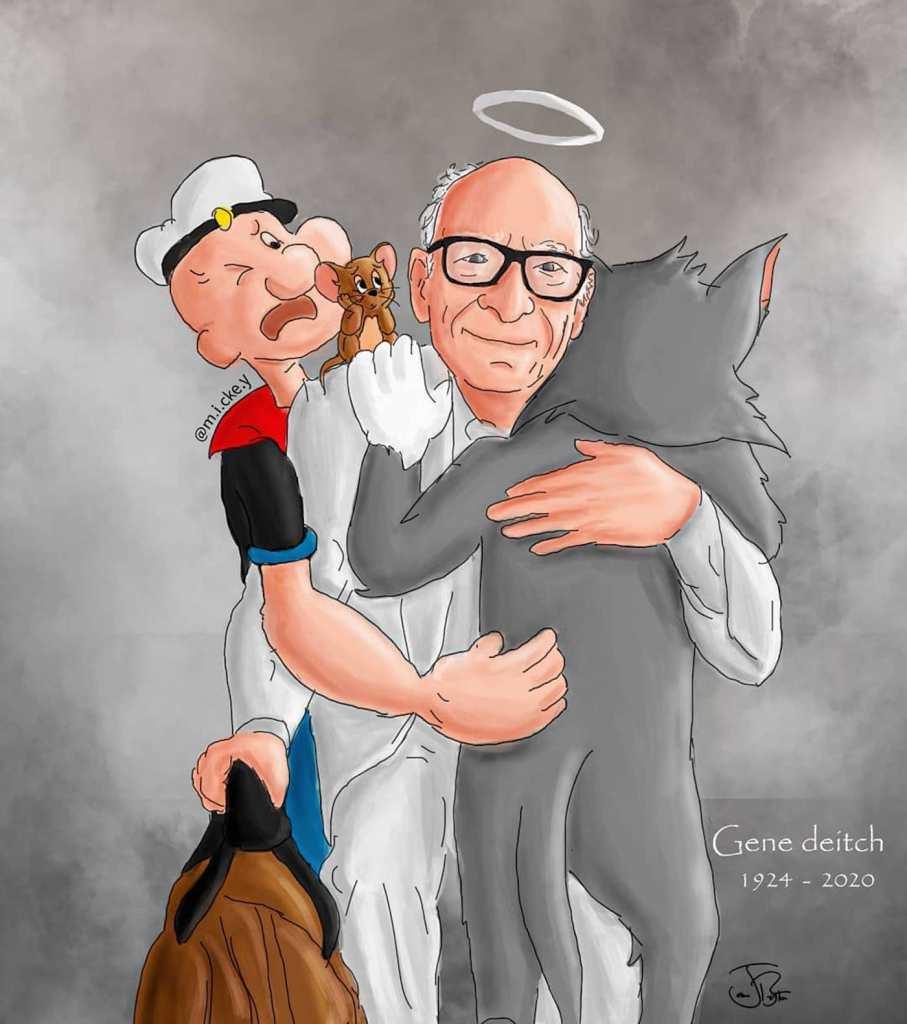 Hommage à Gene Deitch : dessinateur de Tom & Jerry et Popeye