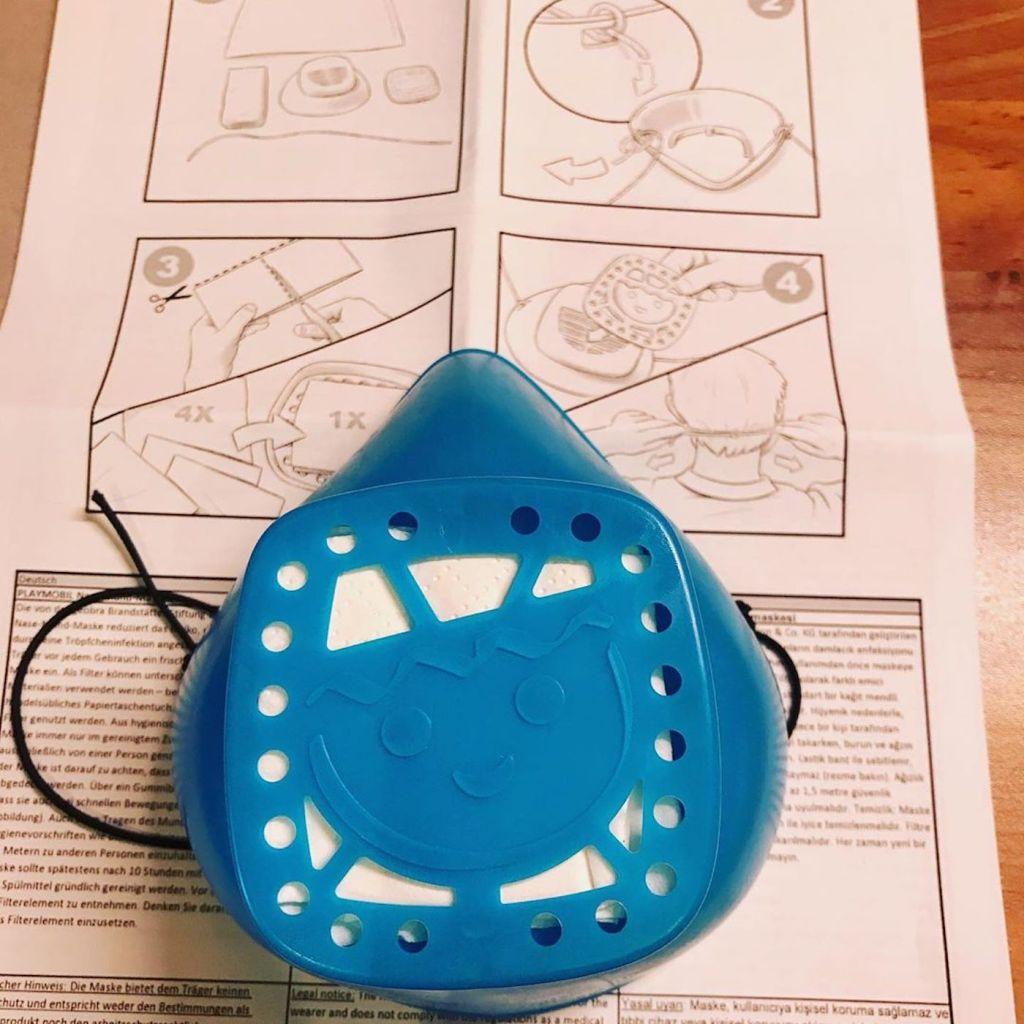 Des masques Playmobil lavables et réutilisables pour le grand public