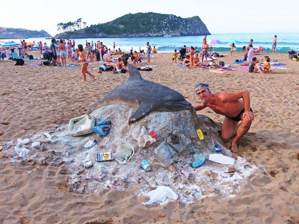 Les sculptures de sable d'Andoni Bastarrika