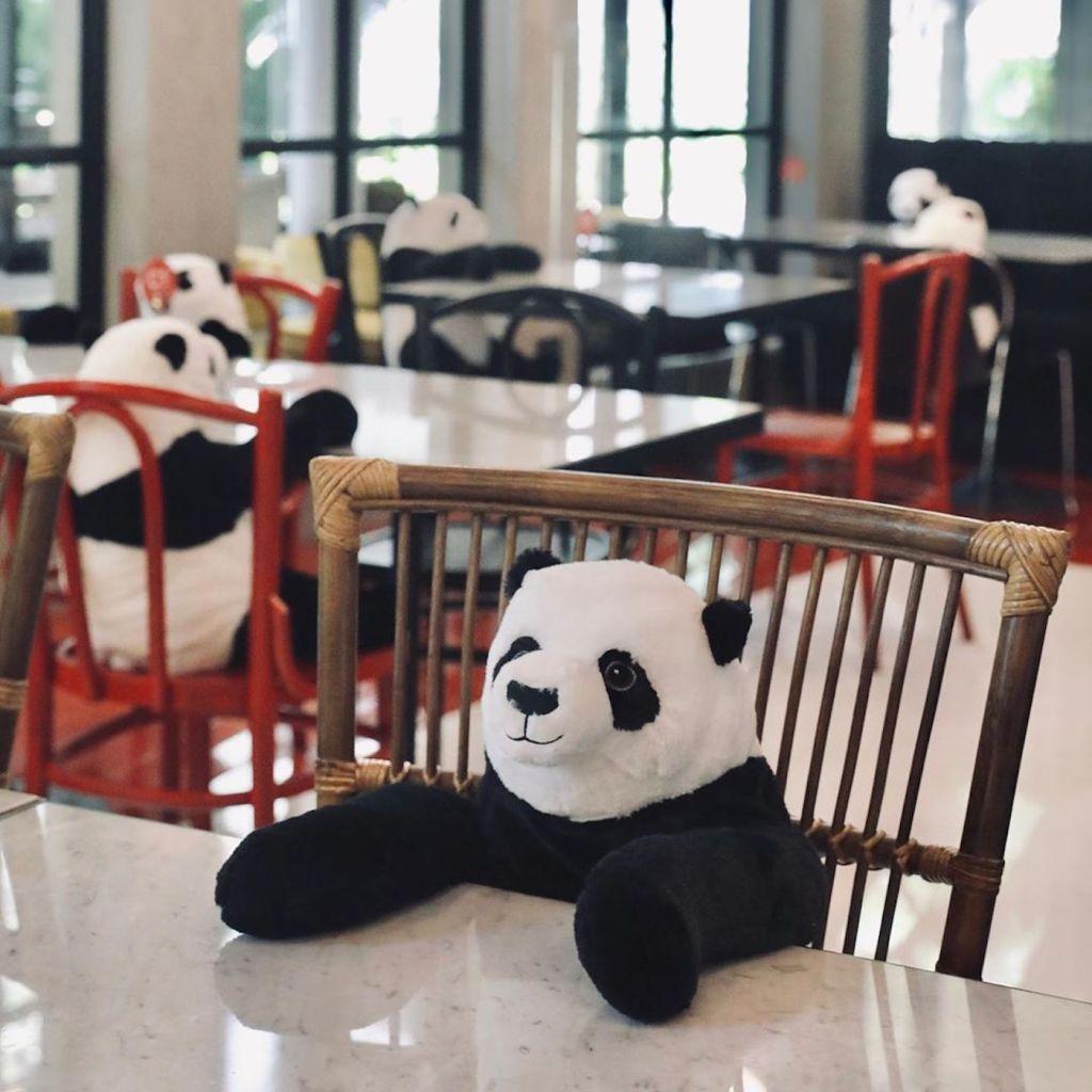 Ce restaurant utilise des peluches pour que les clients se sentent moins seuls malgré la distanciation physique