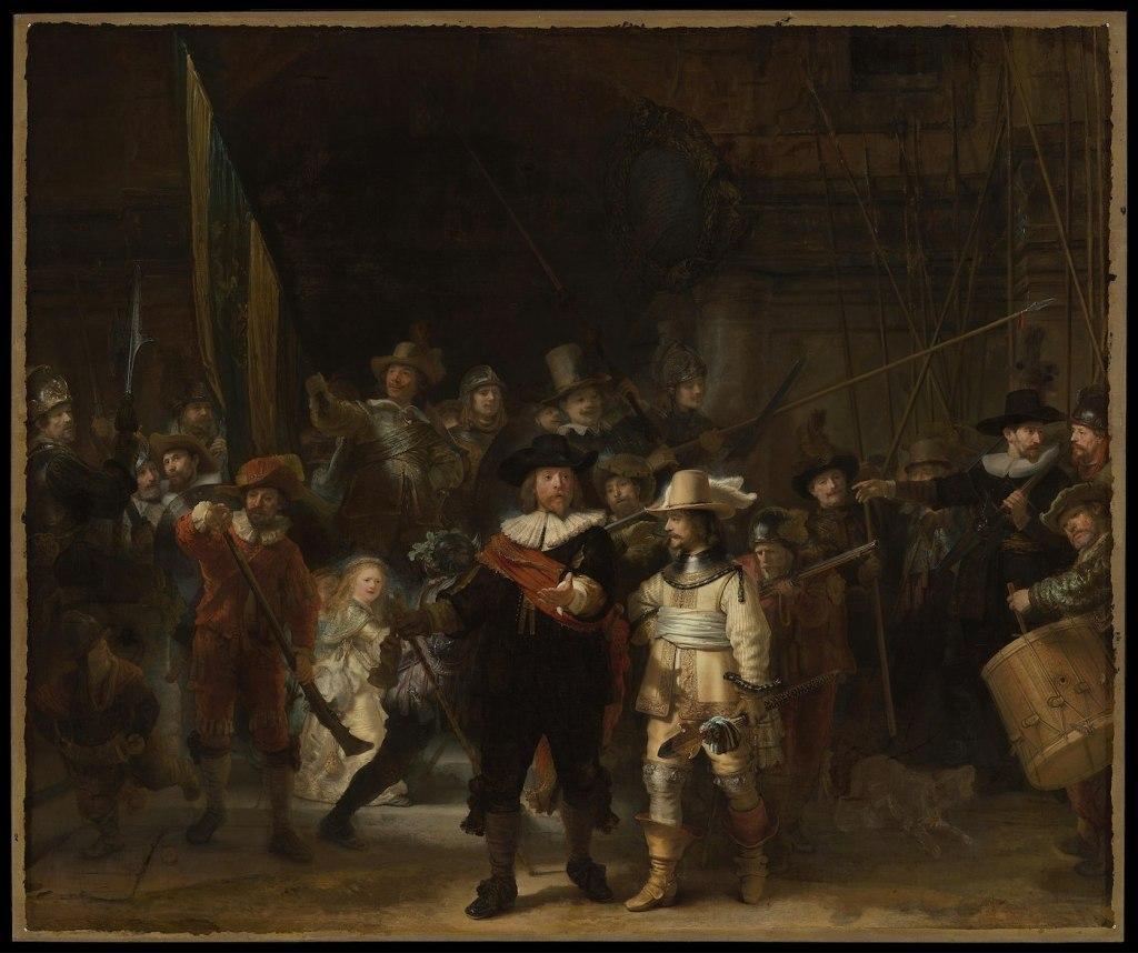 """""""La Ronde de nuit"""" de Rembrandt"""
