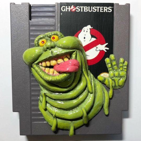 L'artiste Steve Casino donne vie aux cartouches de NES