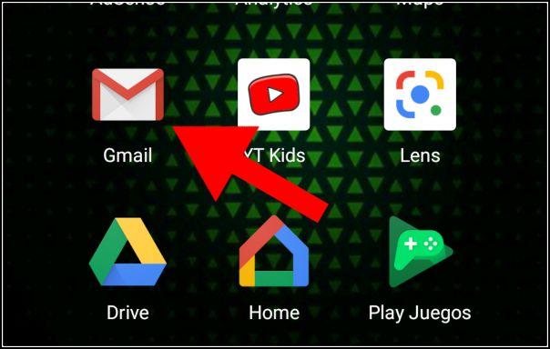 abrir app Gmail