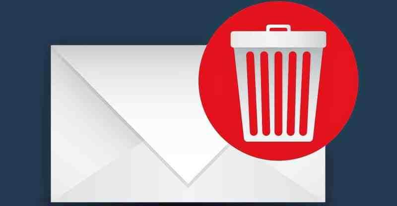 Eliminar correos Gmail