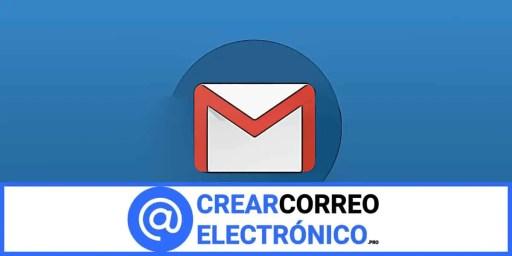 Crear correo electrónico Gmail