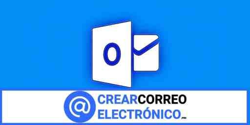 crear correo electrónico Outlook